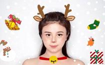 麋鹿妆怎么化好看 圣诞节可爱麋鹿妆容图片教程